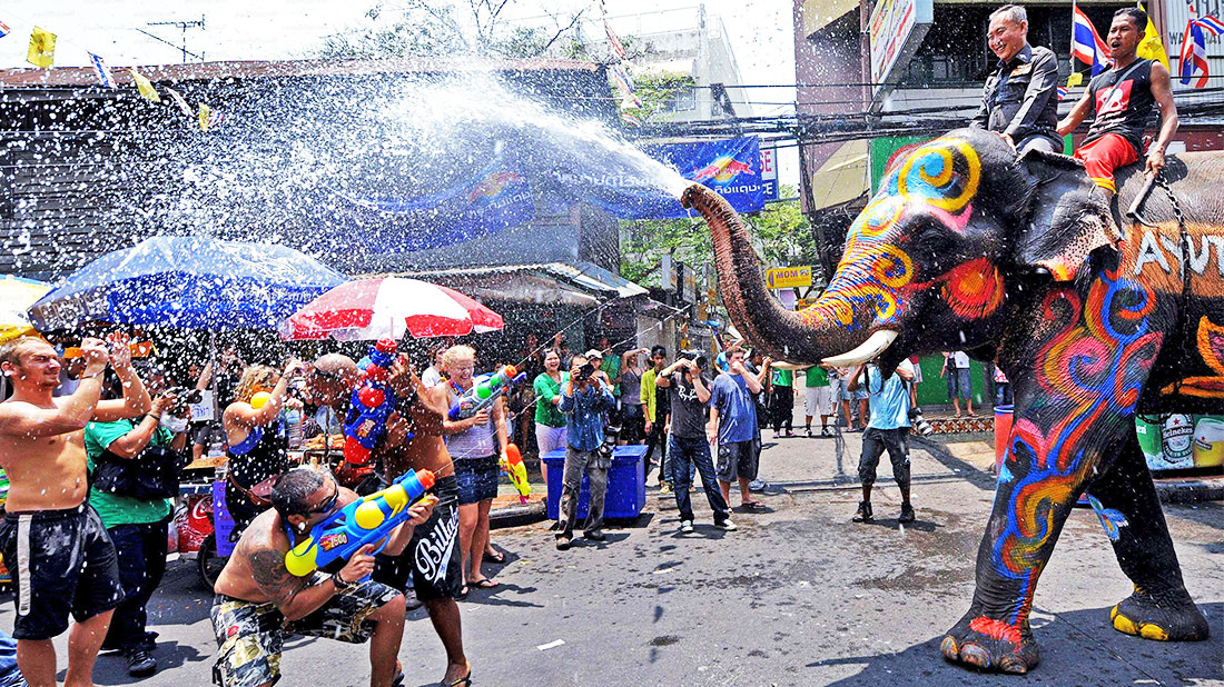 Thai new year Water festival