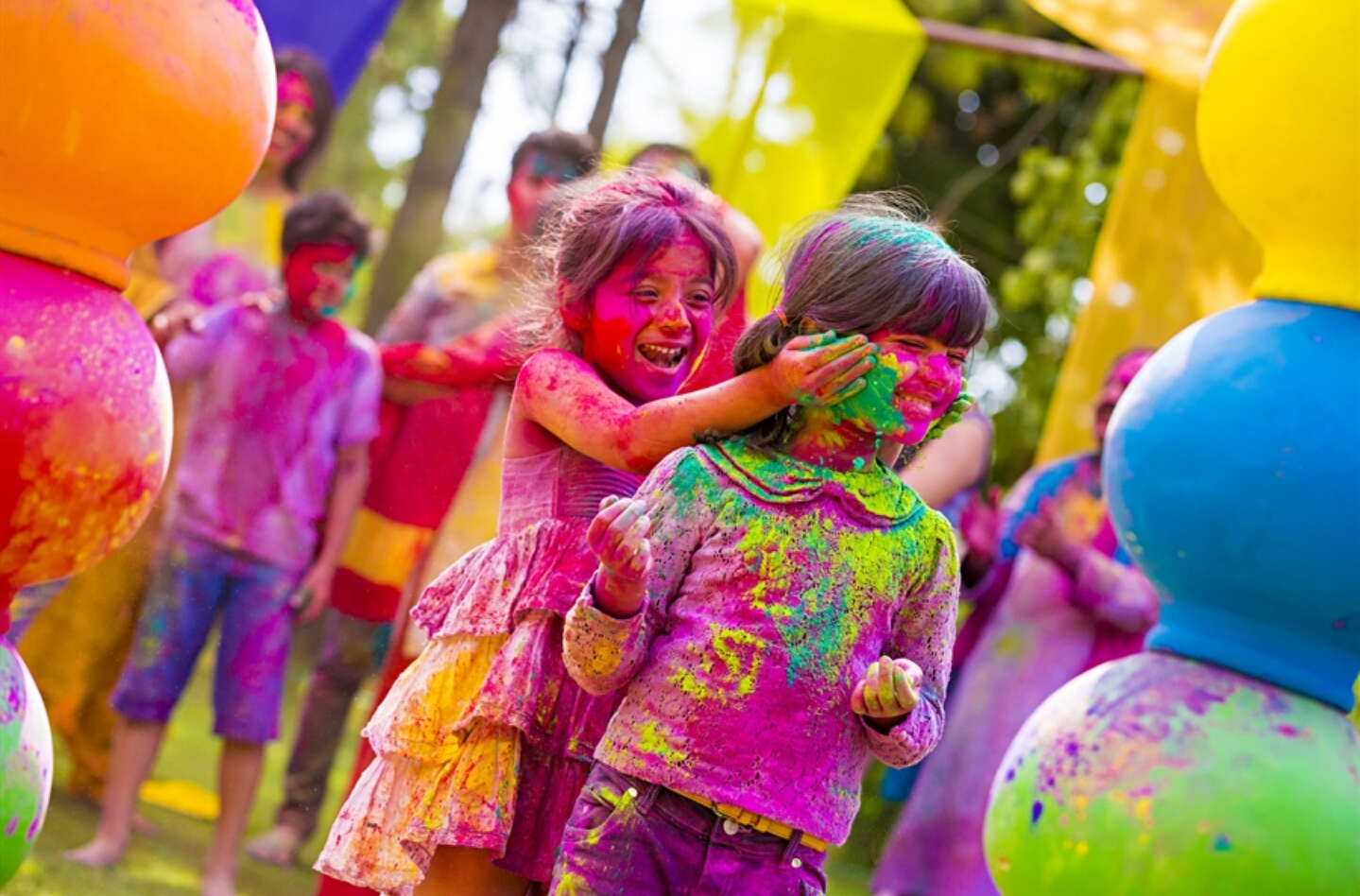 HOLI FESTIVAL OF COLORS AND LOVE